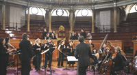 Charles Hazlewood records Purcell at The Sheldonian, Oxford Oxford