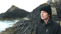 Charles Hazlewood looks out to the Hebrides