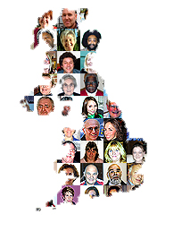 Faces of the British Isles