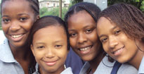 Pupils from Cape Verde