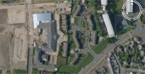 Arial photo of Southwick primary school