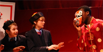 Pupils from Dartford Grammar perform their Mandarin play